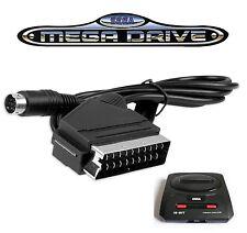 cable video peritel RGB neuf Sega Mega Drive 2 pal Megadrive 2 High Quality👍