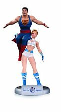 DC COMICS BOMBSHELLS POWER GIRL & SUPERMAN STATUE / JUSTICE LEAGUE