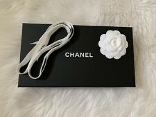 Authentic CHANEL Empty Box With Ribbon And Camillia