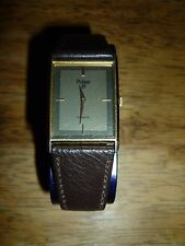 VINTAGE PULSAR V250-5290 TANK WATCH GENTS DRESS WATCH GWO !!