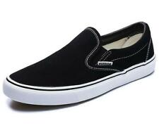 UK Mens Van Classic Sneakers Slip-On Plimsolls Trainers Skate Shoes New