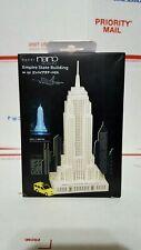 Empire State Building Paper Nano Laser Cut Paper Model Craft PN122 Kawada
