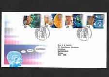 GB FDC 27/09/1994 Medical Discoveries with Cambridge FDI SHS