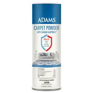 Adams Carpet Powder with Linalool and Nylar 16 oz   Free shipping