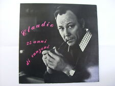 CLAUDIO VILLA - 25 ANNI DI CANZONI - LP VINYL EXCELLENT 1969 COPY # 001307