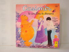 Livre Disque 45T vinyl série animée Casimir et le concours de chansons menestrel