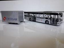 Rietze Postauto Crossair Airlinie Citaro Anhänger Glacier-Express Schweiz Linien