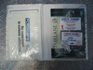 Ford Fairlane Ghia Owners Handbook Manual July 1997