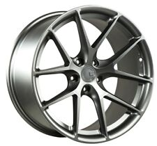 Aodhan LS007 19x9.5 +15 5x120 Matte Gunmetal (Set of 4)