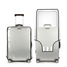 Universal Waterproof Protective Transparent Luggage Suitcase Cover Case Travel
