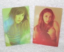 f(x) Luna Mini Album Vol. 1 Free Somebody Taiwan Promo Two Photo Card (fx)