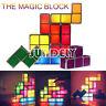 HI-Q Tetris Jigsaw Puzzle Constructible Stackable LED Light Lamp Home Decor