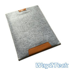 Soft Felt Soft Bag Case Sleeve Cover Pouch For Tablet 23x33cm 25x22cm