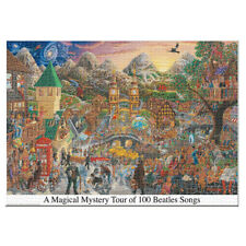 A Magical Mystery Tour of 100 Beatles Songs 3000pc Officially Licensed Puzzle