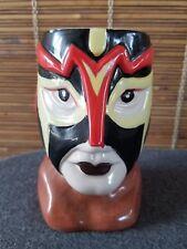 RARE Luchador Lucha Libre Ceramic Tiki Mug