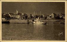 Quiberon Morbihan Frankreich Ansichtskarte ~1930 Le Port Maria Partie im Hafen