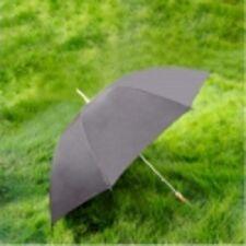 """60"""" Solid Black Golf Windproof Umbrella New"""