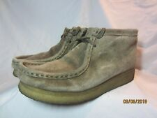 Clarks Originals Wallabee Size 7M Lace Up Crepe Sole Boot Style 78486