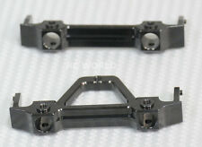 For Axial SCX10 Jeep Honcho UpGrade METAL BUMPER BRACKET MOUNTS Front + Rear Set