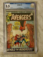 The Avengers #94 cgc 3.5(Dec 1971, Marvel)