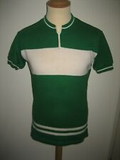 Green white vintage Holland jersey shirt cycling maillot maglia size 3, M