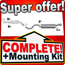 Audi TT 1.8 T Turbo 1998-2006 Coupe Cabrio Roadster Silencer Exhaust System 857