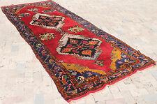 Turkish Rug 51''x127'' Vintage Old Anatolian Carpet 130x325cm