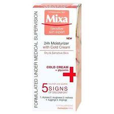 Mixa Face Cream 24h Moisturizer With Cold Cream Dry&Sensitive Skin 50ml