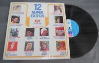 12 SUPER EXITOS FEAT. SASHA MONTENEGRO / 2+2 DE COLOMBIA RARE 1980 MEXICAN LP