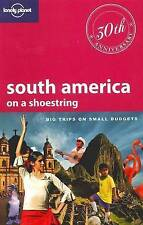 Lonely Planet South America: On a Shoestring (Shoestring Travel Guide)-ExLibrary