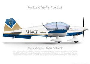 Alpha 150A VH-VCF RVAC 2014 - A3+ Profile Print