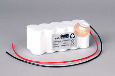 Akkupack 12V 2000mAh (2,0Ah) Notbeleuchtung Notlampe Notleuchte Notlicht Ni-Cd