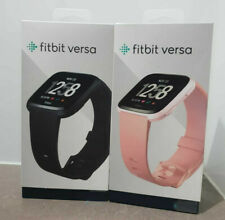 BRAND NEW FITBIT VERSA FITNESS SMART WATCH ACTIVITY TRACKER BLACK LILAC GOLD