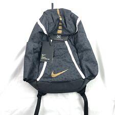 Nike Hoops Elite Max Air 2.0 Basketball Backpack Black Gold White CK0915-011