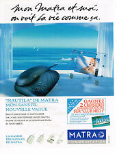 PUBLICITE ADVERTISING 045  1994  MATRA COMMUNICATION  téléphone sans fil  CONCO