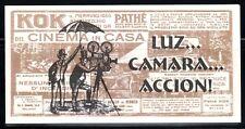 SELLOS  CINE. URUGUAY 1999 C-1831 CARNET. FESTIVAL DE CINE
