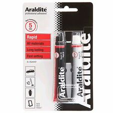 Araldite Super Strong Adhesive Epoxy Glue Red 30ml Rapid Sets In Minutes