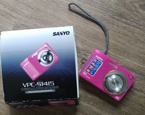 Sanyo VPC 51415 Pink Digital Camera 14.0 MP