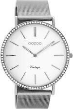 OOZOO Damenuhr Vintage Silber C8890