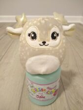 """Cookie Scented Squishmallow 4"""" Fawn Deer Willow Justice NEW in Mystery Capsule"""