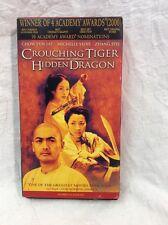 Crouching Tiger, Hidden Dragon (VHS, 2001, English Dubbed)