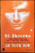 ED SHEERAN '+' Ltd Ed Discontinued RARE Poster +FREE Alt Rock Pop Poster! Divide