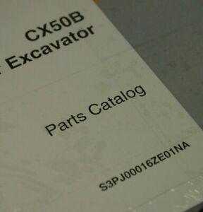CASE CX50B CRAWLER EXCAVATOR PARTS CATALOG