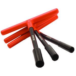 RFX Pro T-Bar Set (Black/Orange) Standard Reach with Rubber Handle 8mm/10mm/13mm