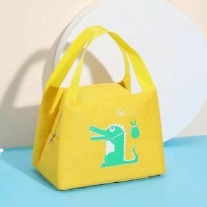 Lunch Bags Cartoon Picnic Travel Thermal Organizer Insulated Waterproof Storage