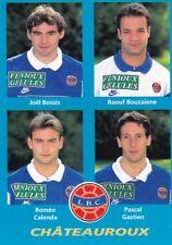 n°364 VIGNETTE PANINI CHAMPIONNAT DE FRANCE 1996 4 joueurs CHATEAUROUX