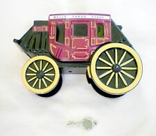 NEW Wells Fargo San Francisco Stage Coach Die Cast Bank - HIGHLY COLLECTABLE