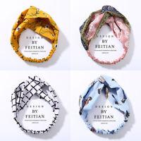 Women Fashion Turban Twist Knot Head Wrap Headband Twisted Knotted Hair Band New