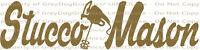 Stucco Mason Vinyl Decal Grout Mixer Masonry Construction Drill Sticker