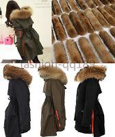 2019 Damen WinterJacke Baumwolle mantel daunenJacke 100% ECHTE Fellkragen Parka
